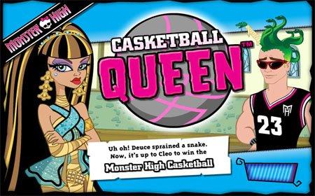 Сыграй в Casketball с Клео