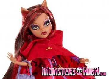 Кукла Клодин Вольф - Волк в красной шапочке (Clawdeen Wolf - Little Dead Riding Wolf)